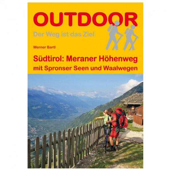 Conrad Stein Verlag - Südtirol: Meraner Höhenweg - Vandrekort