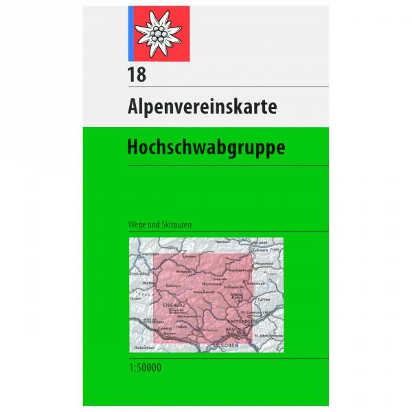 DAV - 18 Hochschwab - Wandelkaart