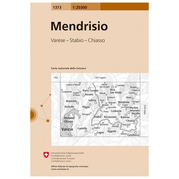 Swisstopo -  1373 Mendrisio - Vandringskartor