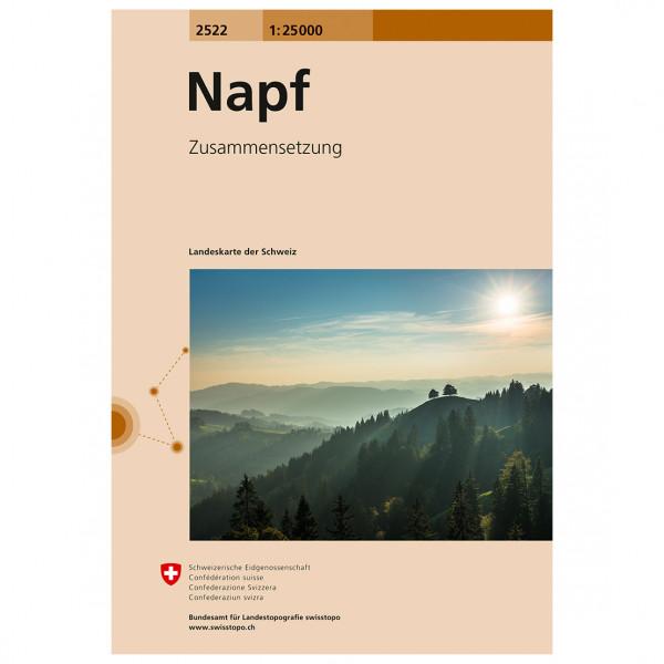 Swisstopo -  2522 Napf - Wanderkarte