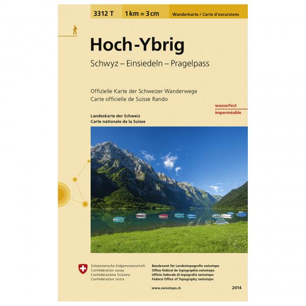 Swisstopo -  3312 T Hoch-Ybrig - Vandringskartor