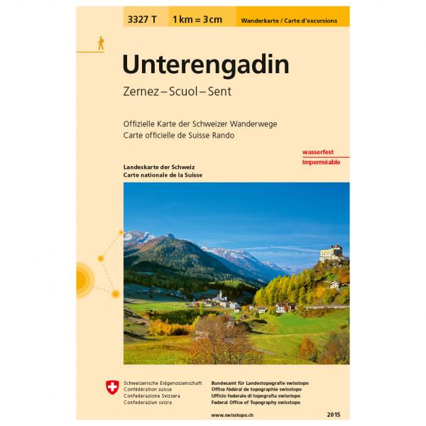 Swisstopo -  3327 T Unterengadin - Turkart