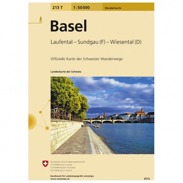 Swisstopo -  213 T Basel - Wandelkaarten