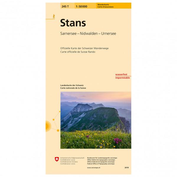 Swisstopo -  245 T Stans - Hiking map