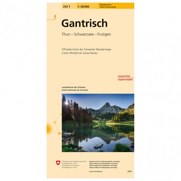 Swisstopo -  253 T Gantrisch - Hiking map