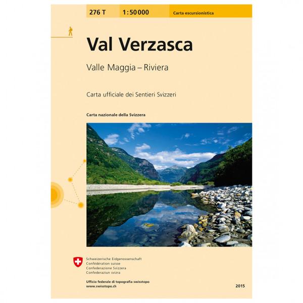 Swisstopo - 276T Val Verzasca - Wandelkaarten