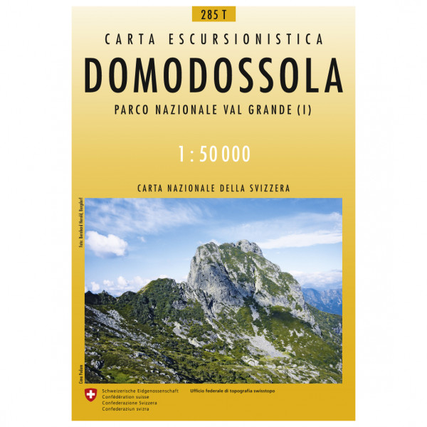 Swisstopo - 285 T Domodossola - Hiking map