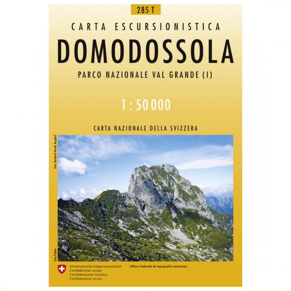 Swisstopo - 285 T Domodossola - Vaelluskartat