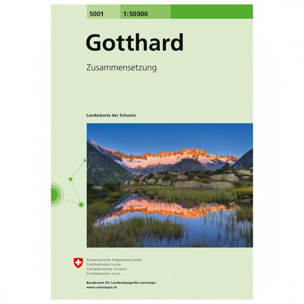 Swisstopo - 5001 Gotthard - Turkart