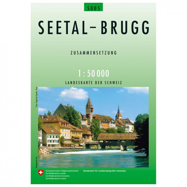 Swisstopo - 5005 Seetal-Brugg - Vandringskartor