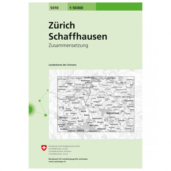 Swisstopo - 5010 Zürich - Wandelkaarten