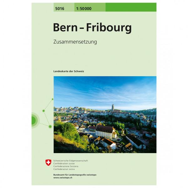Swisstopo - 5016 Bern-Fribourg - Vaelluskartat