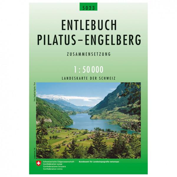 Swisstopo - 5023 Entlebuch-Pilatus-Engelberg - Wandelkaart