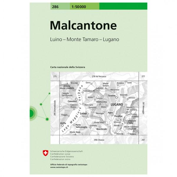Swisstopo - Malcantone 1:50000 - Vaelluskartat