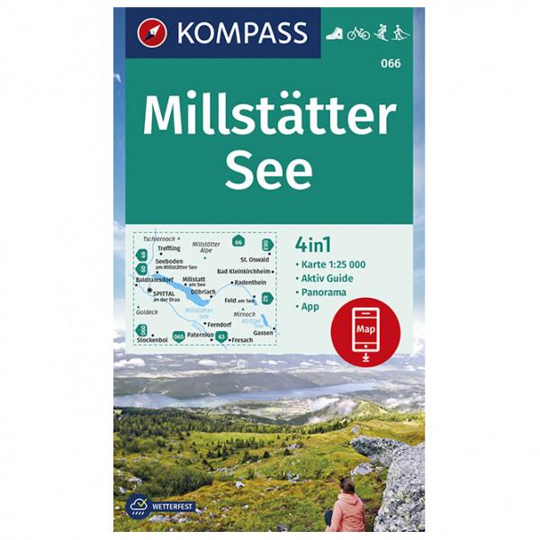 Kompass - Wanderkarte Millstätter See - Wanderkarte