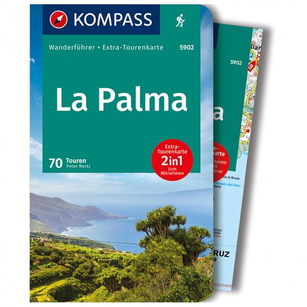 Kompass - Wanderführer La Palma - Vandrekort