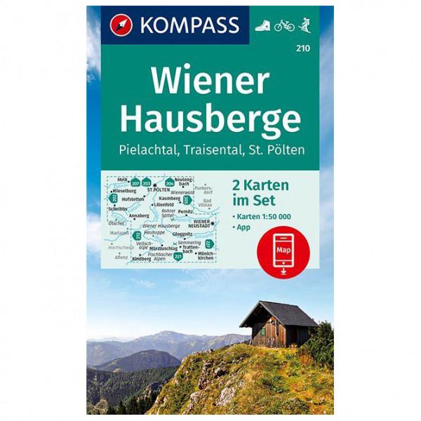 Kompass - Wanderkarte Wiener Hausberge Pielachtal Traisental - Wanderkarte