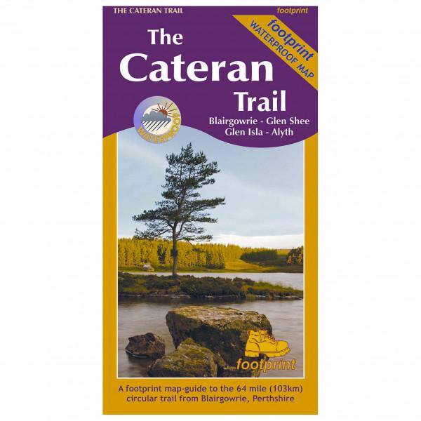 Cordee - The Cateran Trail: Blairgowrie-Glen Shee-Glen Isla - Wanderkarte