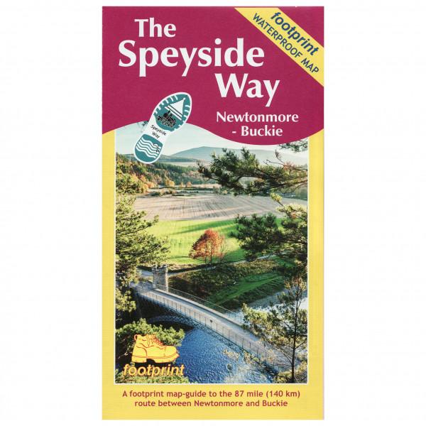 The Speyside Way: Newtonmore To Buckie - Hiking map