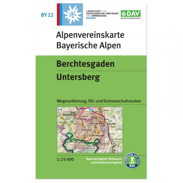 DAV - Berchtesgaden, Untersberg - Hiking map