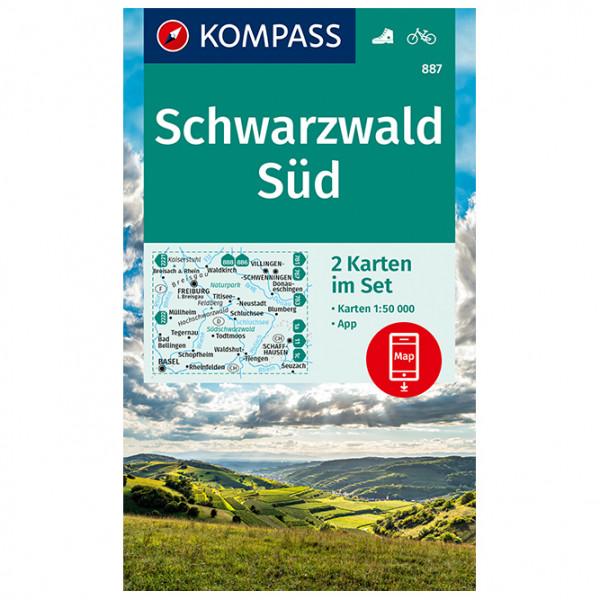 887 Schwarzwald Sd (2-K-Set) - Hiking map