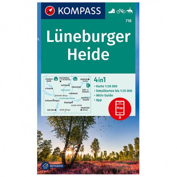 Kompass - Wanderkarte Lüneburger Heide - Wanderkarte
