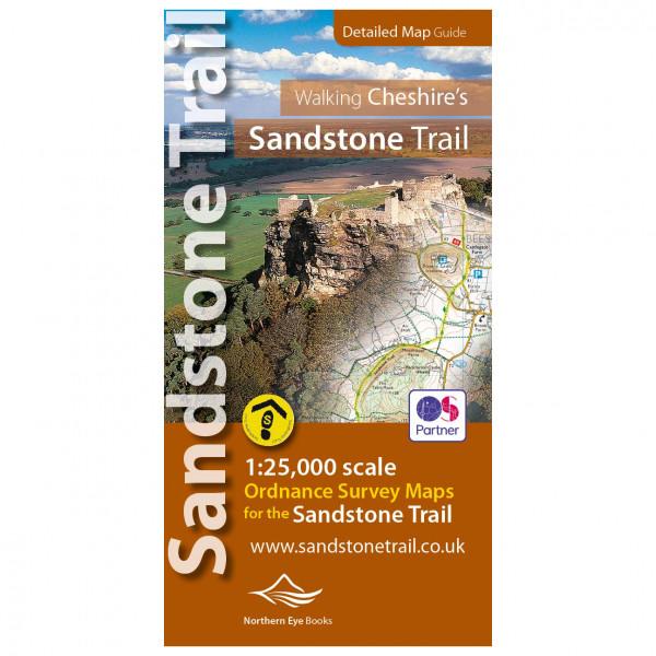 Walking Cheshire's Sandstone Trail - Hiking map