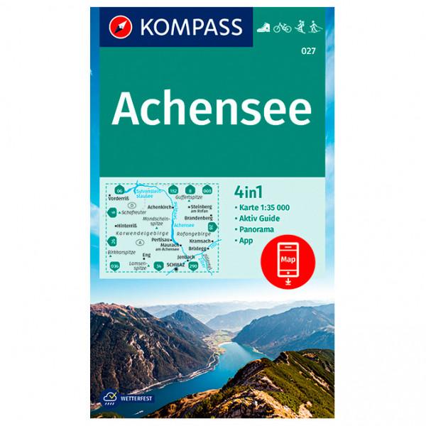 Wanderkarte Achensee - Hiking map