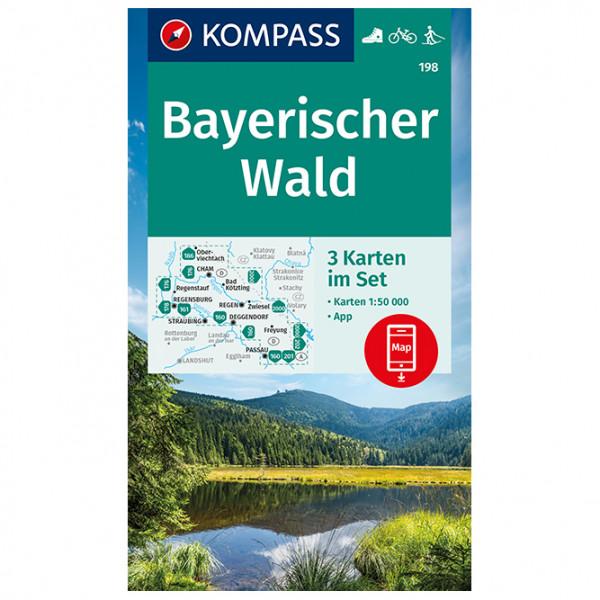 Kompass - Bayerischer Wald - Carte de randonnée
