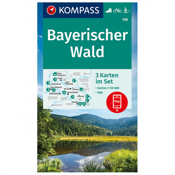 Kompass - Bayerischer Wald - Wanderkarte