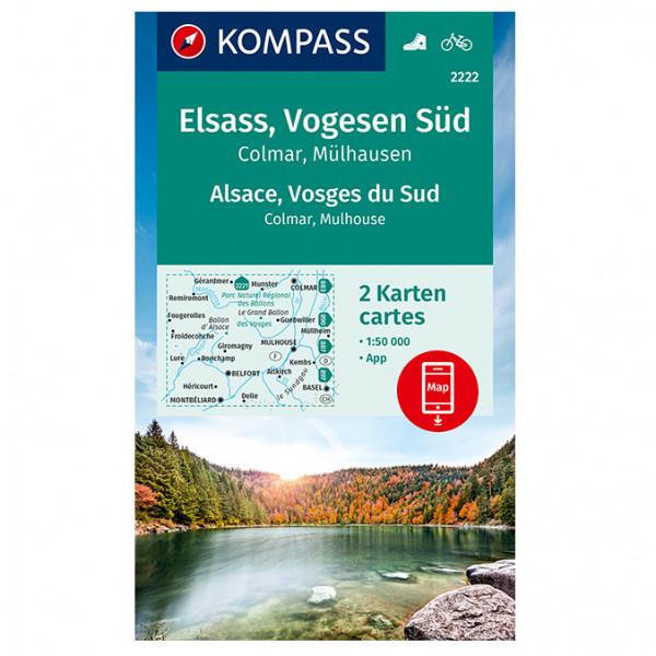 Elsass, Vogesen Sd - Hiking map