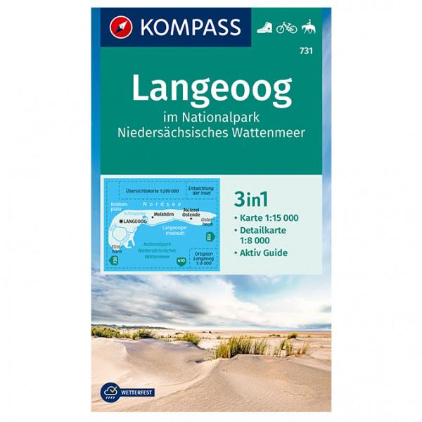 Langeoog - Hiking map