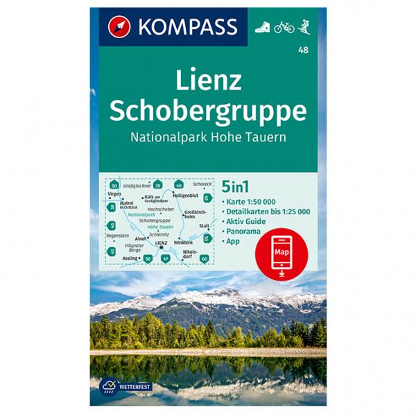 Lienz, Schobergruppe, NP Hoheauern - Hiking map