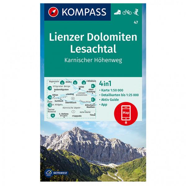 Lienzer Dolomiten, Lesachtal - Hiking map