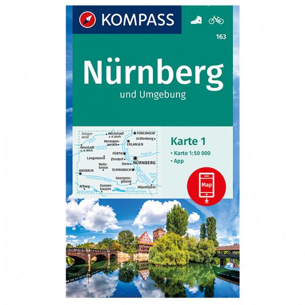 Nrnberg und Umgebung - Hiking map