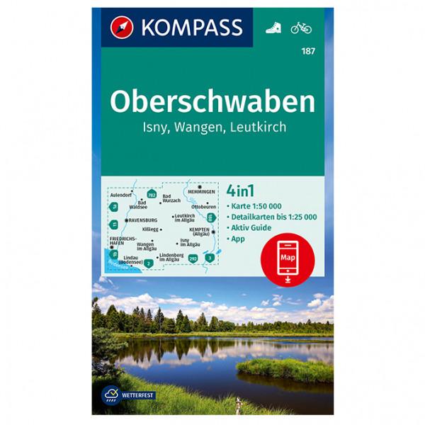 Oberschwaben, Isny, Wangen, Leutkirch - Hiking map