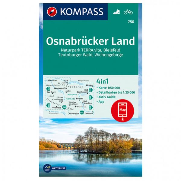 Osnabrcker Land - Hiking map
