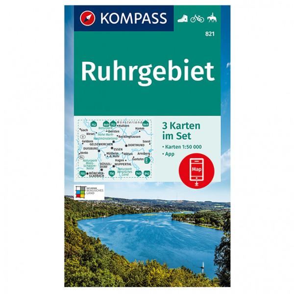 Ruhrgebiet - Hiking map