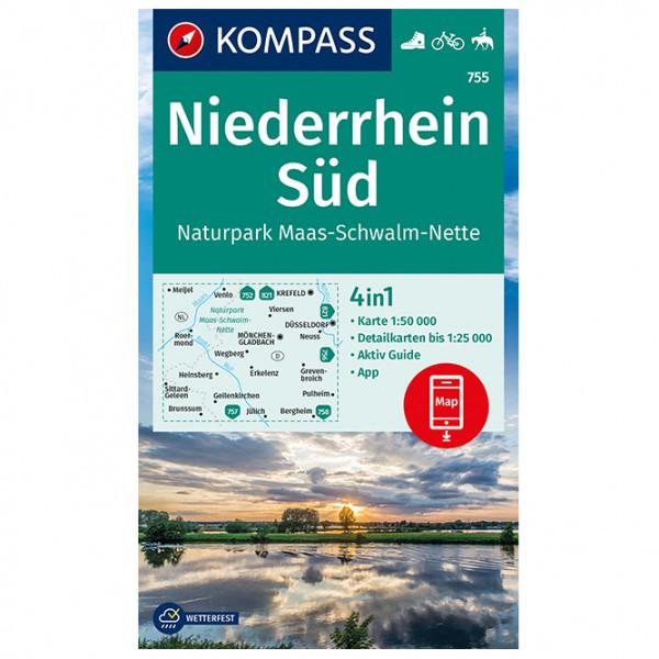 Niederrhein Sd, Maas-Schwalm-Nette - Hiking map