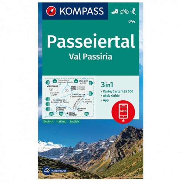 Kompass - Passeiertal, Val Passiria - Wanderkarte