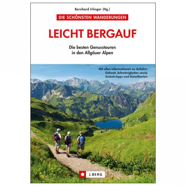 J.Berg - Leicht bergauf - Vandringsguider