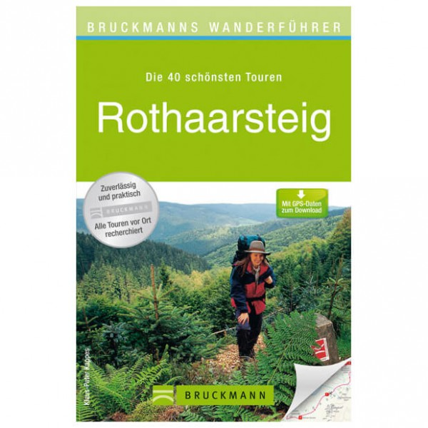 Bruckmann - Wanderführer Rothaarsteig - Vandringsguider