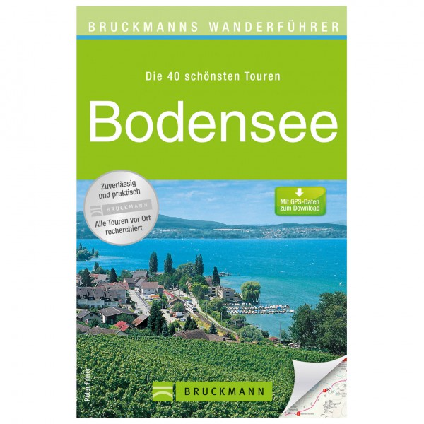 Bruckmann - Wanderführer Bodensee