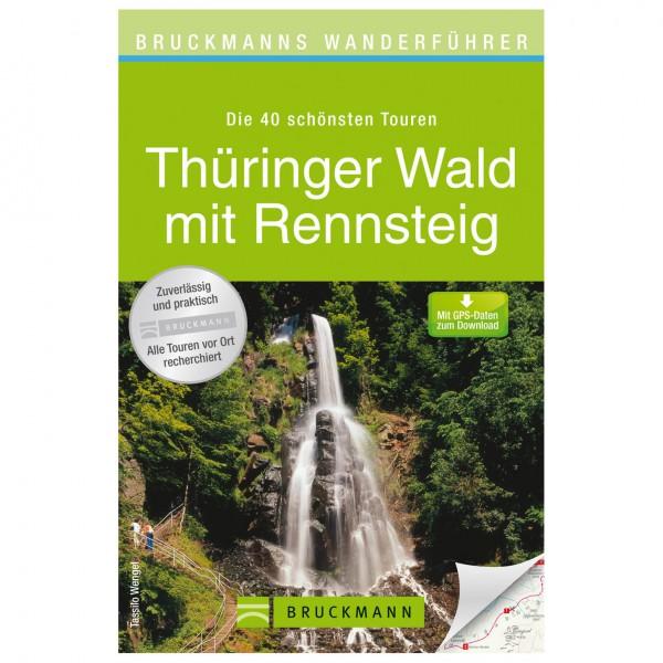 Bruckmann - Wanderführer Thüringer Wald mit Rennsteig - Vandringsguider