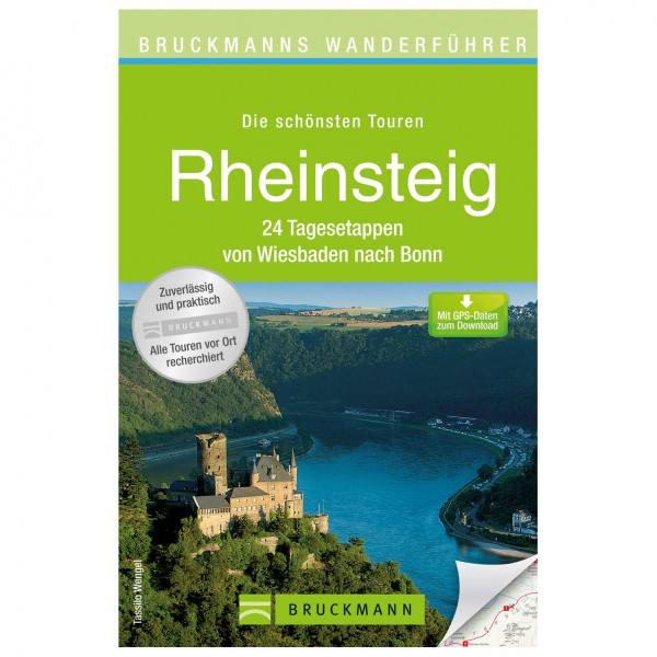 Bruckmann - Wanderführer Rheinsteig - Turguider