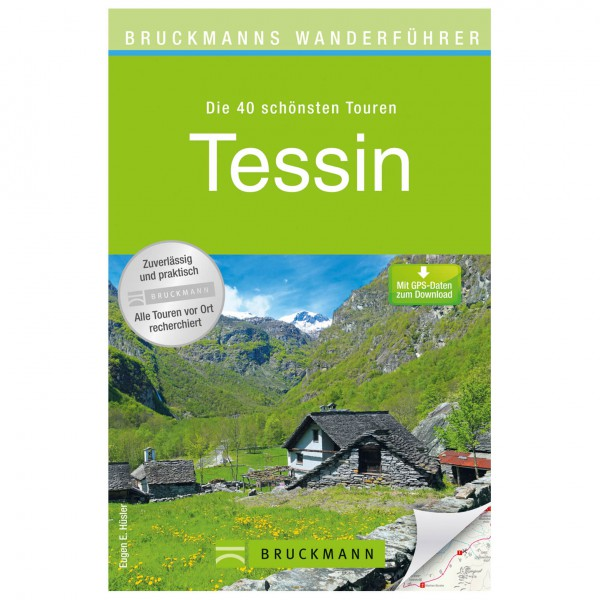 Bruckmann - Wanderführer Tessin - Wandelgids