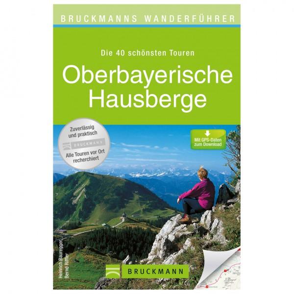 Bruckmann - Wanderführer Oberbayerische Hausberge - Vandreguides