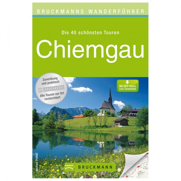 Bruckmann - Wanderführer Chiemgau - Vandreguides