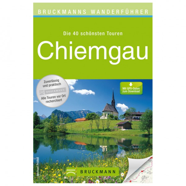 Bruckmann - Wanderführer Chiemgau - Walking guide book