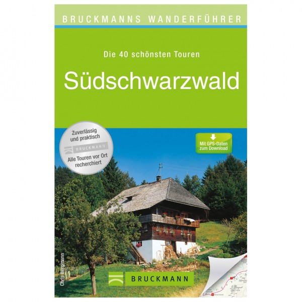 Bruckmann - Wanderführer Südschwarzwald - Vandreguides